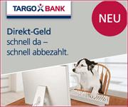 NEU: Direkt-Geld – TARGOBANK überzeugt mit Kurzzeitkredit